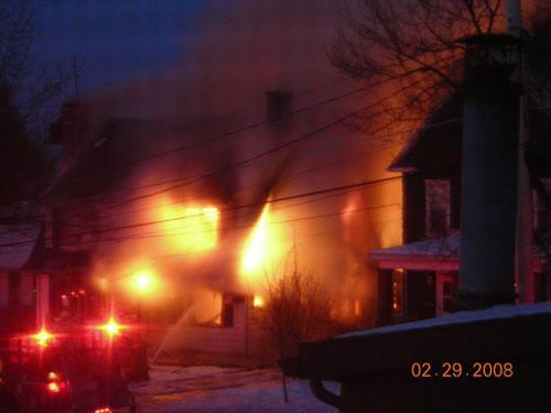 PA Duplex Fire Photo 1